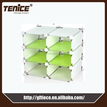 Tenice 2015 new wardrobes plastic cabinets design for clothes