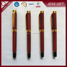 Wood painting fountain pen luxury fountain pen for business gift