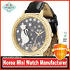 Manafacturer of handmade miniature polymer japan movt water resistance original 3d korea mini watch brand