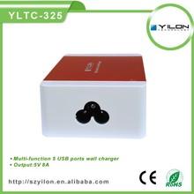 5usb AU/US/UK/EU plugs worldwide travel adapter