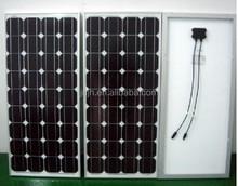best quality low price mono130w 140w 150w 160w solar panel with CE TUV UL