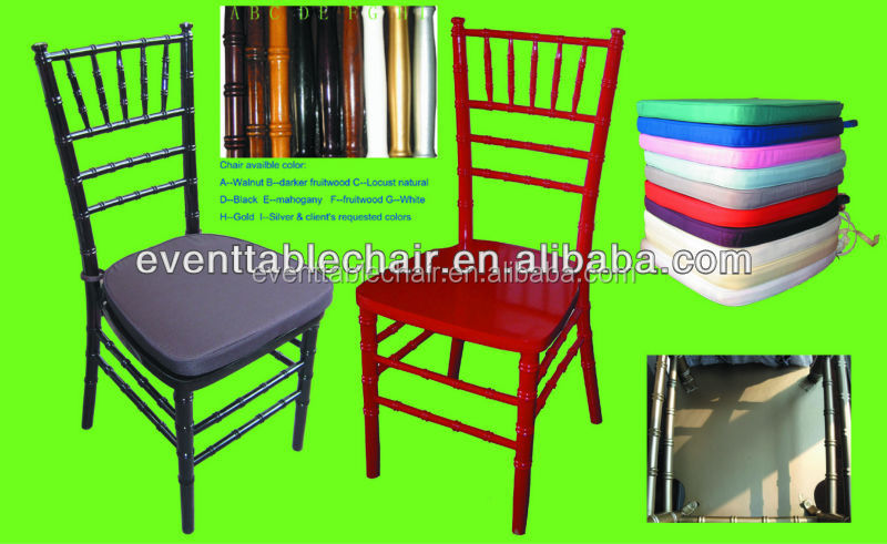 banquet wedding wood wholesale chivari tiffany chair for sale