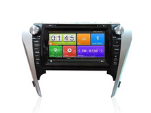 Capacitance touch screen 2 din car radio dvd gps navigation system for Toyota Camry 2012