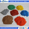 Colored EPDM rubber granules crumb rubber rubber track used for playground running track