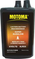 6V 4LR25 super alkaline battery