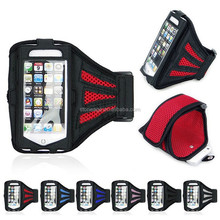 Flexible Durable Mesh Sports Running Phone Armband for iphone5/6 & plus