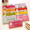 Kids plastic post it notes Bookmark Marker NotePad Sticky Notes