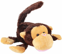 QLMGE-21 electric rolling and laughing plush animal monkey