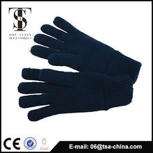 Alta calidad de punto de fibra acrílica completamente táctil guantes