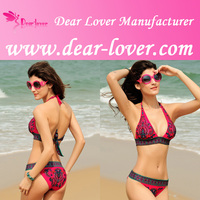 2014 wholesale Push-up Halter Swimsuit korea sex photo