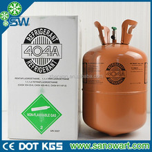 Central air conditioner gas r404a refrigerant cooling capacity R404A