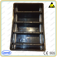 ESD Plastic Box with PCB rack Divider
