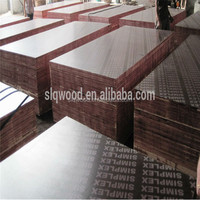 Poplar Main Material and Outdoor Usage Chinese Film Faced Plywood