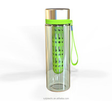 new design easy taking credit card and key plastic storage bottle,water bottle with storage compartment