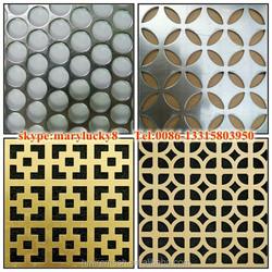curtain wall perforated mesh/Aluminum perforated mesh /Decorative perforated mesh