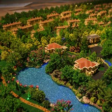 Architectural Model Maker , ABS Plastic Scale Model For Residential Plan