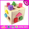 2015 Shape Intelligence Box block box toy for kids,colorful block box toy for children,hot sale block box toy for baby W12D011