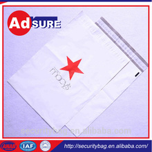 satchel Delivery bag/Ldpe Bag With Adhesive Tape/self adhesive plastic bags