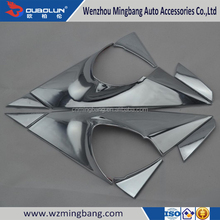 High Quality For 2015 KIA Sportage stainless steel Window Decoration Strip,Stainless Steel Car Window Molding Trims