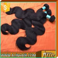 hair extension dropship available, 20inch virgin brazilian hair, brazilian virgin hair #1 color