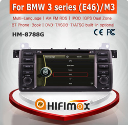 HIFIMAX WIN CE 6.0 Car DVD GPS For BMW 3 Series: (2002-2006)E46(BMW new 40-Pin connector) Car DVD GPS Bluetooth DVD USB