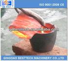Pequeno laboratório de aço/ferro fornalha de derretimento