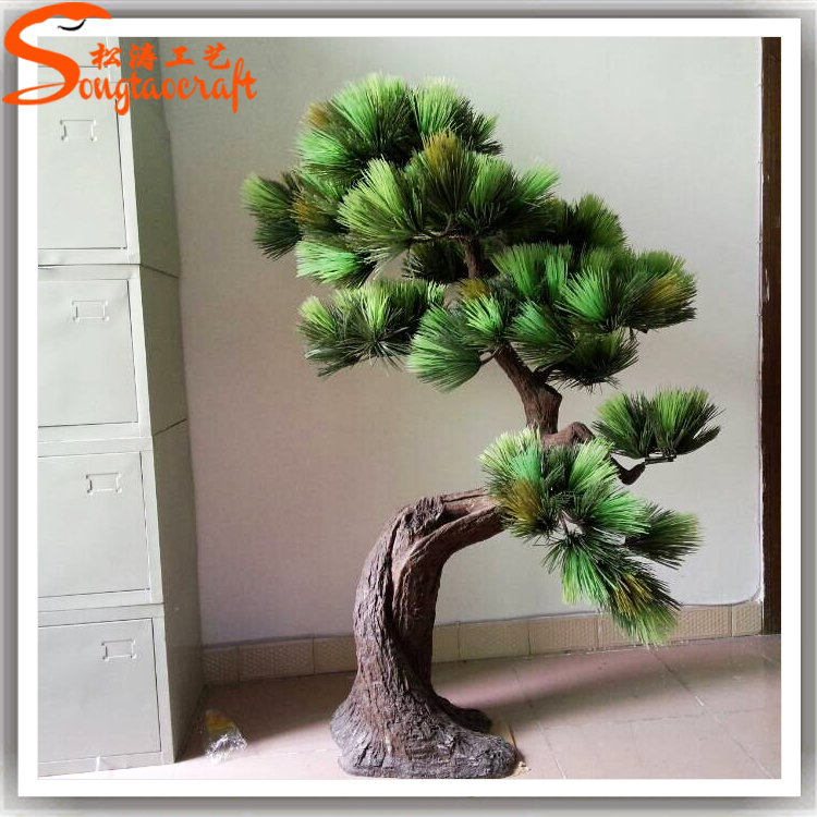Fabrication artificielle vieux bonsal arbre vendre usine for Bonsai artificiel grande taille