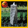 Garden wall pet fountain for outdoor and indoor