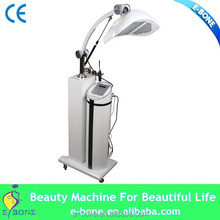Photon light+galvanic Skin Rejuvenation Skin Tightening professional pdt led light therapy equipment with factory price