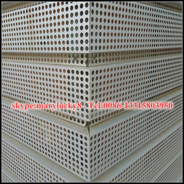 Architectural Perforated Metal Panels : Decorative perforated sheet metal panels