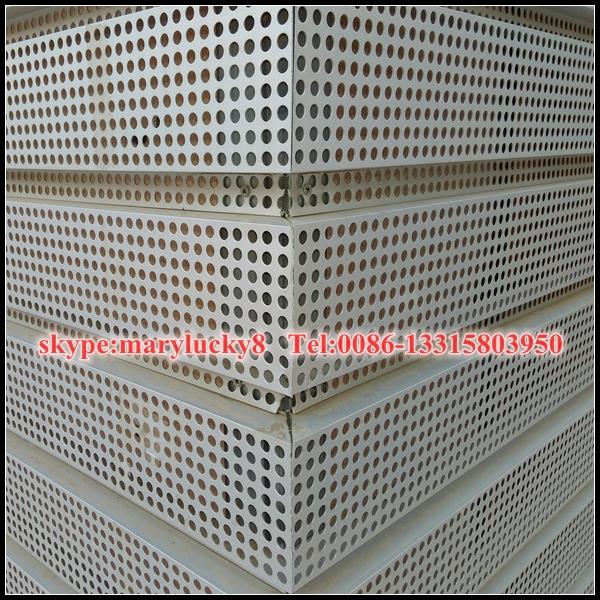 Decorative Perforated Sheet Metal Panels Perforated Metal