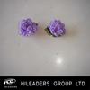 Polyester Material Satin Ribbon Mini Flower