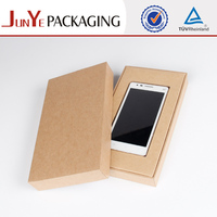 Kraft Empty Cell Phone Packaging Case Manufacturer