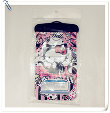 hello kitty waterproof cell phone bag