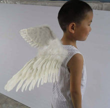 Hot sale 60 cm small angel wings for crafts small feather wing