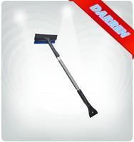 3 in 1 Car Cleaning Tool Extendable Alluminium Handle Long Extendable Snow Scraper Ice Scraper