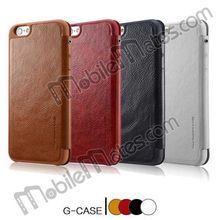 Top Selling for iPhone 6 Plus Case Cover, G-CASE GULORT Series Flip Cover for iPhone 6 Leather Case
