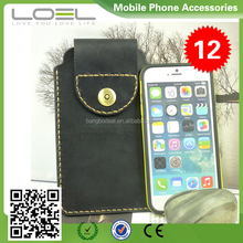 New arrival customized genuine leather bag for iphone 6/plus BO-CPI6001(1)