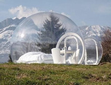 2015 Hot selling attractive inflatable transparent pods, inflatable pods, inflatable clear pods