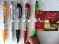 top sale promotional banner pens 1000pcs customized logo with free shipping