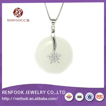 New arrival strictly checked sterling silver pendant for pearl vogue jewelry wedding necklace