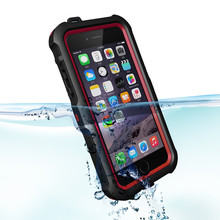 ZVE TPU waterproof case for iphone 6 , waterproof case For iphone cover
