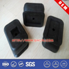 Customized molding small rubber bumper for trucks and cars