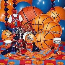 Basketball Themed Party decoration supplies party tableware set