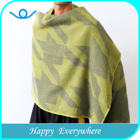 Fashion cheap long pashmina wool men shawl