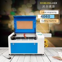 4060 WD-100watts acrylic wood paper card laser engraving cutting machine at a discount