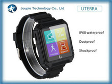Joupie-UTERRA charm bracelet IP68 waterproof, Bluetooth smart watch with phone call function-black/orange/blue
