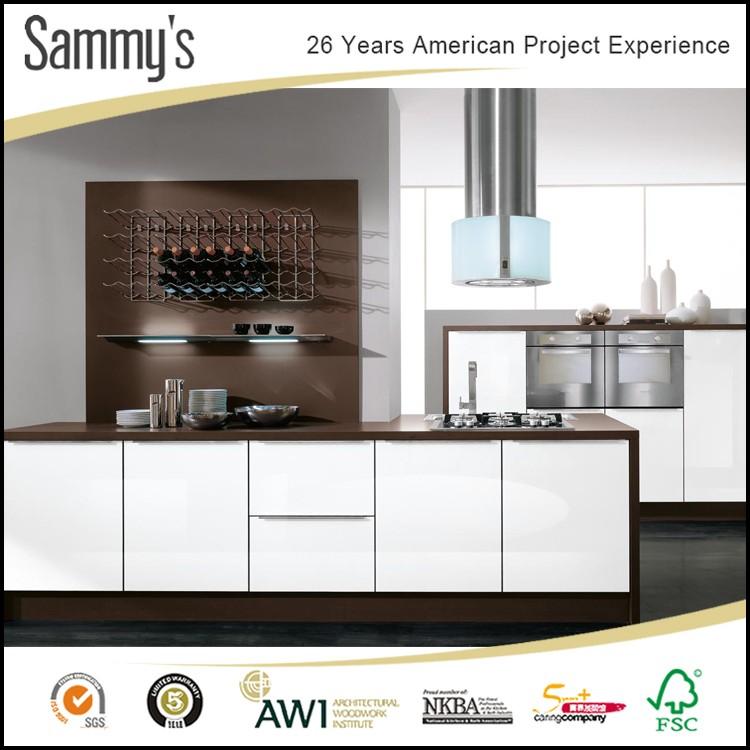American mini white kitchen storage cabinet door made in for Best american made kitchen cabinets