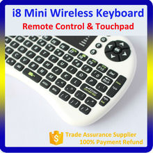 Android tv box air fly mouse 2.4g mini wireless keyboard touchpad