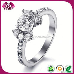 Wholesale Stainless Steel Ring For Girl Low Cost Engagement Rings